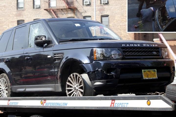 Alexian Lien's Range Rover