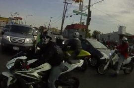 New video emerges similar to Alexian Lien video terrorizing other drivers.