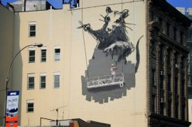 Is this Banksy? Picture taken might finally be him (at last).