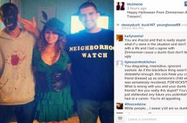 White people dressing as blackface Trayvon Martin for Halloween is not loved.