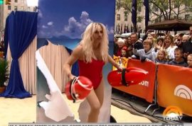 Matt Lauer as Pamela Anderson. Would you hit it?