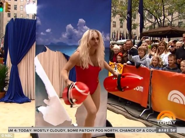 Matt Lauer as Pamela Anderson