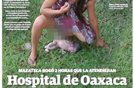 Mexican health director suspended after indigenous woman gives birth on the lawn.