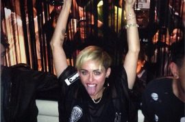 Miley Cyrus wears see through for SNL after party. Another disaster…