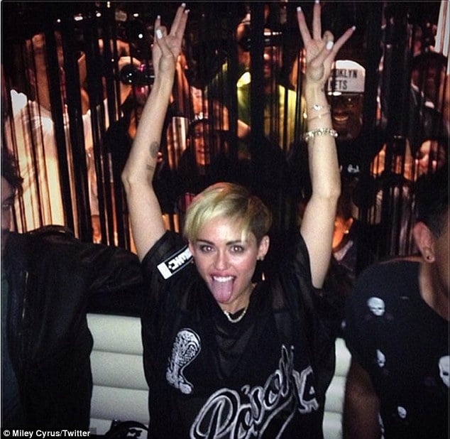 Miley Cyrus SNL afterparty
