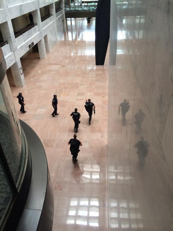 US Capitol lockdown