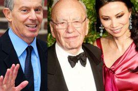 Did Rupert Murdoch's ex wife Wendi Deng have an affair with Tony Blair?