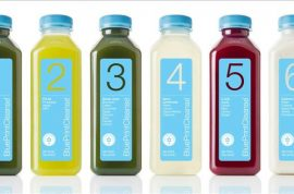 How $12 green juice bottles become the new status symbol.