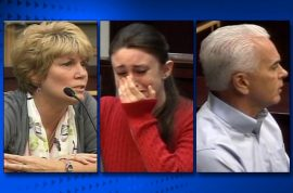 Casey Anthony parents face eviction. Had yard sale of Caylee's toys.