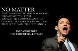 Real life 'Wolf of Wall st,' Jordan Belfort is now a changed man. Squandered $200m on coke and hookers.