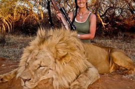 Hardcore Huntress Melissa Bachman unfairly slammed after posting picture of lion she killed?