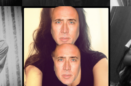 Nicholas Cage app, Feeling Cagey? lets you swap his face over yours.
