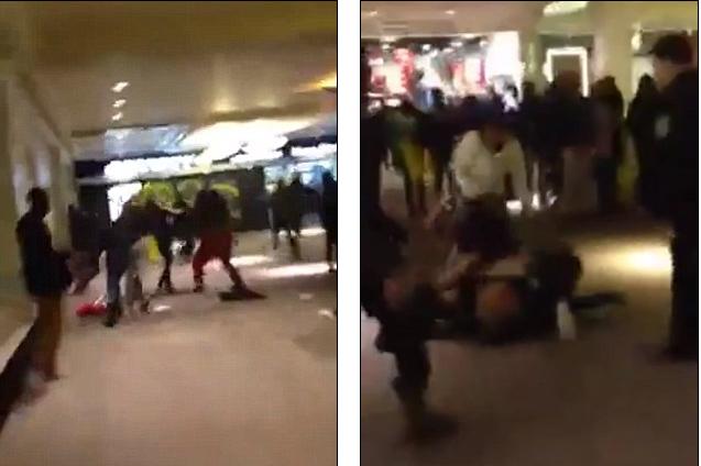Teens terrorize Brooklyn mall