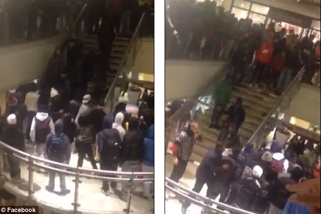 Teens terrorize Brooklyn mall