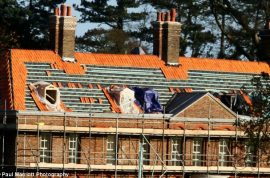 Kate Middleton and Wills piss off locals over Barratt home tiles.