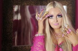 Lhourali Li is the Bradford Barbie living doll. Spends four hours a day perfecting her look.