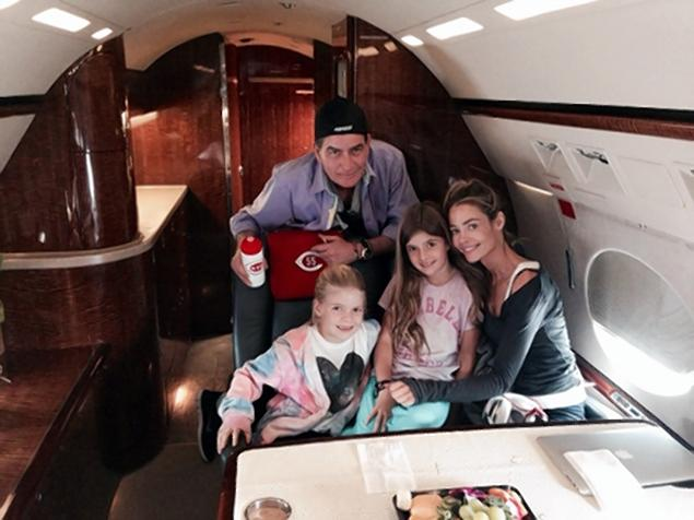 Charlie Sheen chops up Denise Richards wedding gift