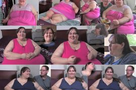 Susanne Eman is on a new weight loss program. To gain more weight after fiance dumps her.