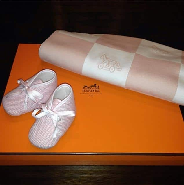 Kim Kardashian's baby North gets designer Christmas presents