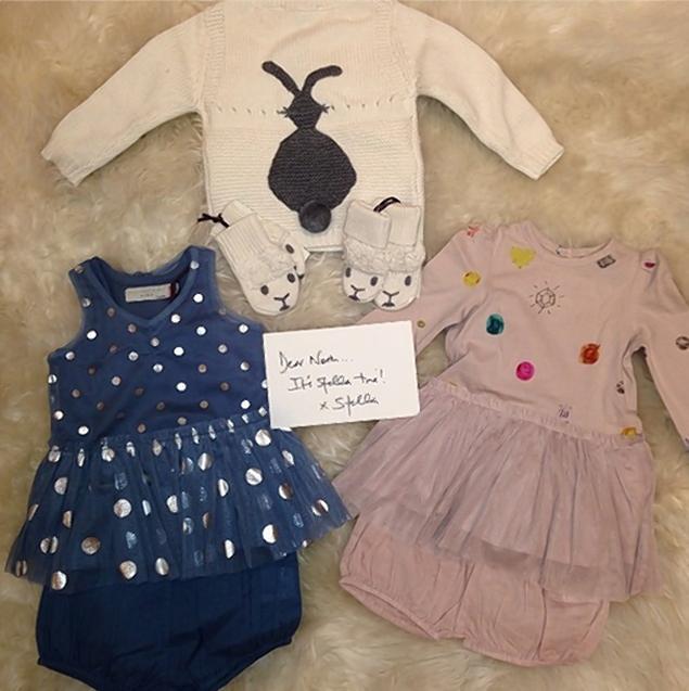 Kim Kardashian's baby North gets designer Christmas presents.