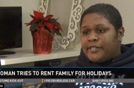 Jackie Turner goes to craigslist seeking to rent family. $8 an hour…