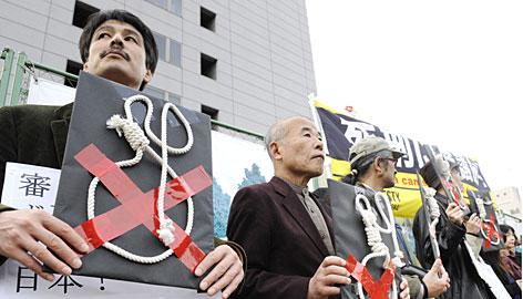 Japan executes prisoners