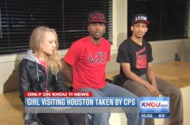 Why was Landry Thompson hauled away from her African American guardians?