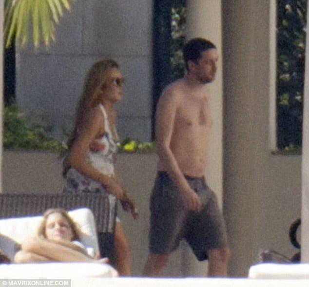Lindsay Lohan and Ray Lemoine