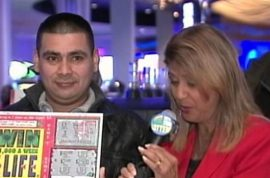 Marvine Rosales-Martinez, landscaper who found $1m lottery ticket gets to keep winnings.