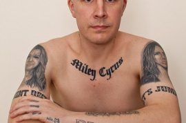Why Carl McCoid, Miley Cyrus fan covered his body with 22 tattoos of the singer.