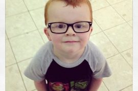 Glasses for Noah Facebook page rallies behind 4 year old boy.