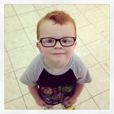 Glasses for Noah Facebook