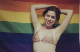 Rich girl Rachael Sacks would like to remind you she's gay too.