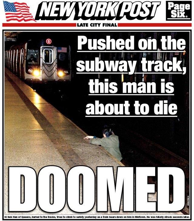 Brooklyn Bridge suicide
