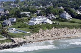 Taylor Swift Rhode Island home is a seawall of grief.