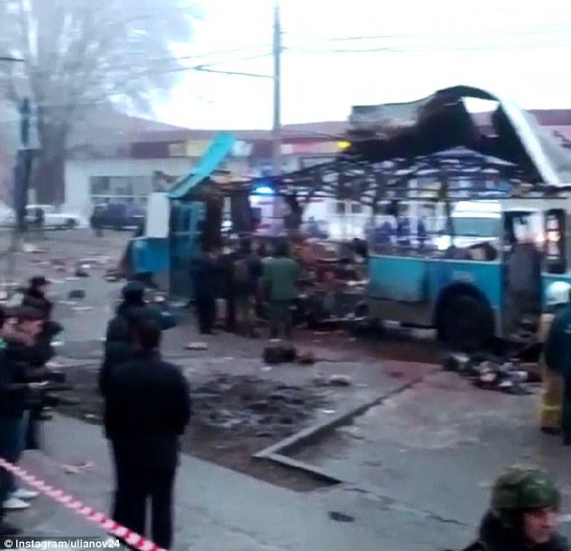 Volgograd tram bomb blast