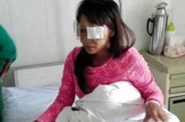 Husband gouges out Chinese woman's eyes after learning she wants a divorce.