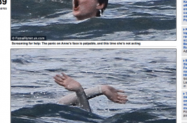 Oh really? Is that a picture of Anne Hathaway drowning?