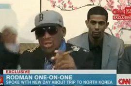 Watch Dennis Rodman meltdown on CNN.