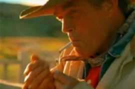 Eric Lawson ex Marlboro man dies of lung disease. Smoker at 14 years old.