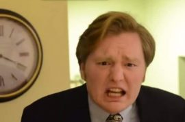 Conan O'Brien illegitimate son demands blood test. Conan declines.