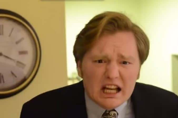 Conan O'Brien illegitimate son