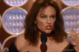 Jacqueline Bisset Golden Globes acceptance speech gave me a hangover.