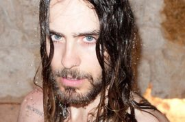 Jared Leto becomes Terry Richardson's wet dream photo shoot.