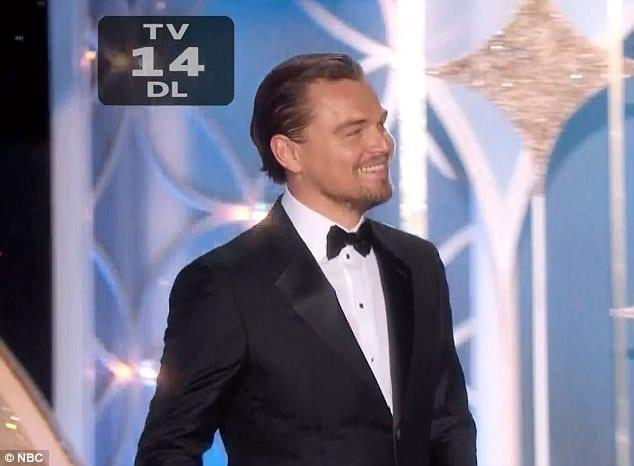 Leonardo DiCaprio supermodel vagina joke