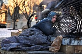 Nicholas A Simmons. Why and how did he end up homeless in Washington DC?