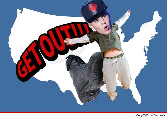 Justin Bieber deportation petition