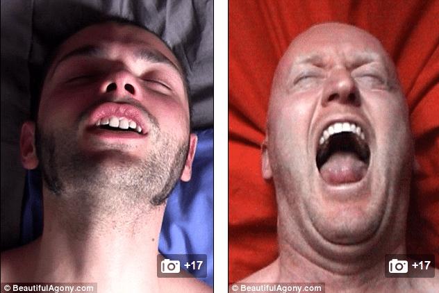 orgasm face