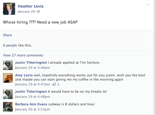 Heather Levia fired