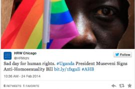 Uganda anti gay law signed off by President Yoweri Museveni. Tears of joy amongst locals.